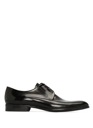 Moreschi %100 Deri Bağcıklı Klasik Ayakkabı Siyah